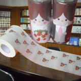 Surtidor impreso suave de la venta al por mayor del papel higiénico del ángel