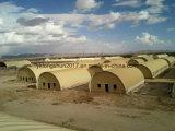 La toiture en acier incurvée de construction de bâtiments couvre la machine Ls-1000-700