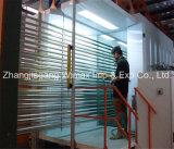Macchina di rivestimento di alluminio della polvere di profilo