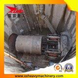 Tubulação do balanço que levanta a máquina para o gasoduto natural