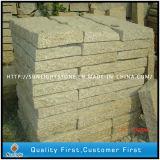 Pavimentadoras del guijarro del granito del oro de la puesta del sol G682/del concreto de la piedra de pavimentación