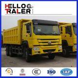 6X4 Sinotruk 371HP HOWOのダンプカーの貨物自動車のダンプトラック