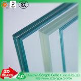 5mm mm PVB+0.76+5Effacer le verre feuilleté pour clôture ou de l'escalier