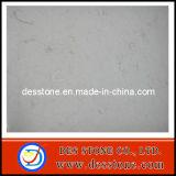 Pulido de mármol naturales de manufactura con el Palacio Blanco mosaico beige