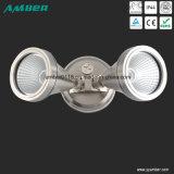 Dos cabezas LED del reflector con o sin sensor de