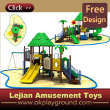 Populaires d'enfants de l'équipement de terrain de jeux de plein air en plastique (X1222-4)