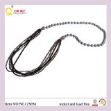 Modo Freshwater Pearl, Facted Crystal Glass Bead Necklace, Latest Design Jewellery/Jewelry Necklace con Magnet Clasp