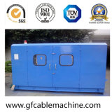 Máquina de torção dobro elétrica do cabo distribuidor de corrente do fio
