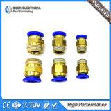 Système pneumatique hydraulique du raccord de tuyau électrique connecteur rapide du matériel