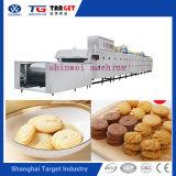 Biscotti automatici pieni che fanno macchinario