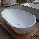 MineralCasted Badezimmer, das feste Marmorbadewanne (171027, tränkt)