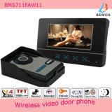 "7 "" TFT-LCD drahtlose aufnahmefähige video Tür-Telefon-Türklingel 4G Ableiter-Karte"