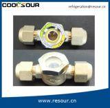 Glas van het Gezicht van de Koeling van het Niveau van het Koper van Coolsour het Vloeibare, de Montage van de Koeling