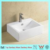 Ovs Hot Sale Design popular Casa de banho Lavar Lavabo Cerâmico