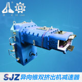 Deling Sjz 80/156 vertikales integrales konisches Doppelschrauben-Getriebe für Plastikstrangpresßling