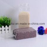Sac de riz en plastique Gusset latéral sans impression pour riz / Grains / Aliments