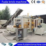 Het Maken van de Baksteen van de Bestrating van de hoogste Kwaliteit Qt4-18 Automatische Machine in Ghana