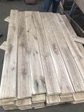 Suelo de entarimado rústico inacabado de madera de roble del grado CD