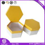 Коробка шестиугольника подарка случая картона устроителя ювелирных изделий упаковывая