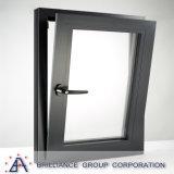 Fenêtre inclinée et tournante en bois plaqué aluminium
