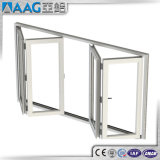Дверь складчатости балкона термально пролома высокого качества алюминиевая