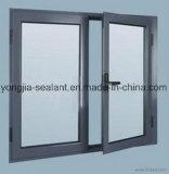이중 유리를 끼우는 열 틈 알루미늄 여닫이 창 Windows 또는 알루미늄 Windows