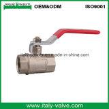Válvula de esfera macho forjada de bronze Ce & ISO (AV-BV-1042)