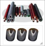 Tubo alettato del migliore di offerta rame di spirale per il dispositivo di raffreddamento di aria