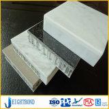 Materiais de Construção em alumínio de acabamento da pedra mármore Painel favo de mel