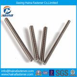 Paste de Ingepaste Staaf van het roestvrij staal DIN975/Staaf DIN976 in