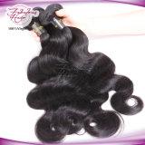 Cheveux ondulés péruvienne populaire péruvienne de couleur naturelle Remy Hair Extension