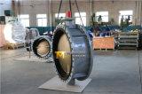승인되는 세륨 ISO Wras를 가진 두 배 플랜지 나비 벨브 44 인치 (CBF02-TF01)