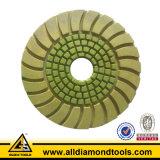 콘크리트를 위한 고품질 다이아몬드 젖은 지면 닦는 패드