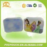 D'impression personnalisé promotionnel dépoli 0,2 mm de PVC Ziplock Voyage Sac cosmétique