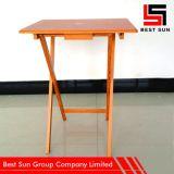 나무로 되는 휴대용 테이블, 주문 색깔 확장 가능한 테이블