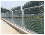 Schule-Spielplatz verwendeter Kurbelgehäuse-Belüftung beschichteter Kettenlink-Zaun/Vieh und Farden verwendeter Kettenlink-Zaun für Verkaufs-Maschendraht