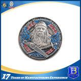 Moneta militare antica del ricordo con smalto sintetico