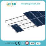 タイルのPicthedの屋根の上の太陽取付金具システム