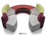 Kombinatives Gewebe-Sofa stellte für Hotel-Vorhalle ein