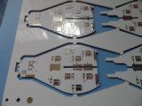 ULは終わったHASLの白い二重味方されたPCBのボードを証明した