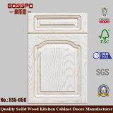 シンプルな設計の木の食器棚のドア(GSP5-013)