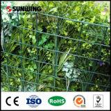 Personnaliser les murs vert artificiel bon marché pour la décoration de jardin