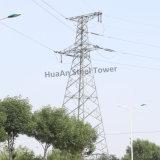 230kv Toren van het Rooster van het Staal van de Hoek van de Transmissie van de macht de Metaal