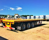 1/2/3/4 Behälter der BPW Wellen-20FT 40FT/Hilfsprogramm/Ladung-Flachbett/Plattform-LKW-halb Schlussteil