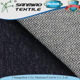 Il filato caldo dell'indaco di vendita ha tinto il tessuto del denim del cotone del Knit della saia