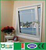 Windows de cristal de aluminio estándar australiano para la vuelta de la inclinación (Pnoc0039ttw)