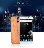 Puissance Ulefone 6050mAh 3Go/16 Go 5,5 pouces de base d'empreintes digitales de l'Octa Smart Phone couleur en bois