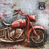 MotobikeのためのOEM 3 Dの金属の絵画