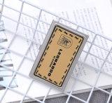 로고에 의하여 인쇄되는 선전용 가죽 명함 홀더