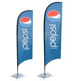 フラグ5メートル羽の/広告のための卸し売り上陸海岸表示旗のフラグおよび旗